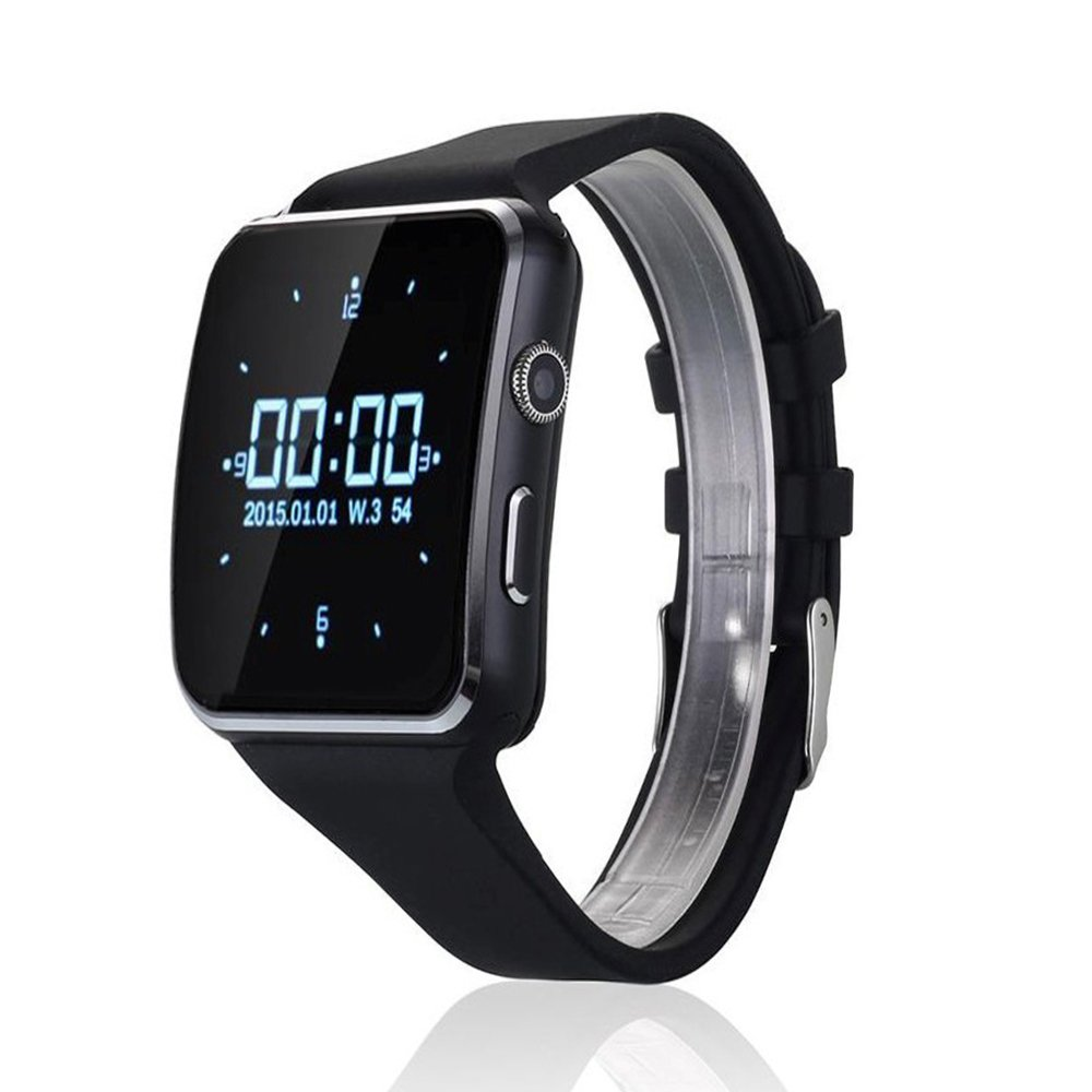 Amazon.com: Curved Ultra HD Touch Screen X6 Smart Watch 16GB ...