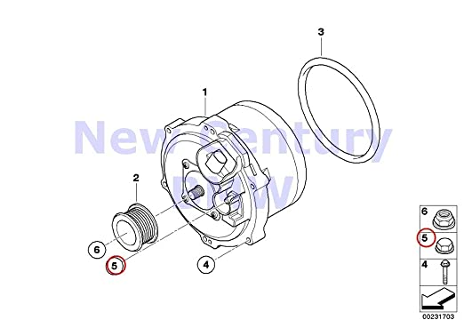Amazon Com Bmw Genuine Engine Electrical System Cap Nut 740i 740il
