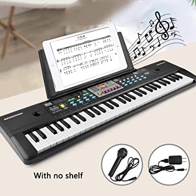 HOTUEEN 37-Keys Microphone Keyboard Children's Musical Toys Early Education Pianos & Keyboards: Home & Kitchen