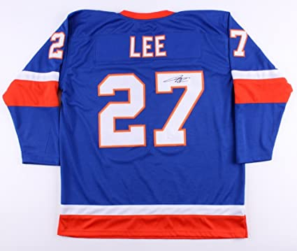 newest 2ff44 fc65a Anders Lee #27 Signed New York Islanders Jersey (JSA COA) at ...