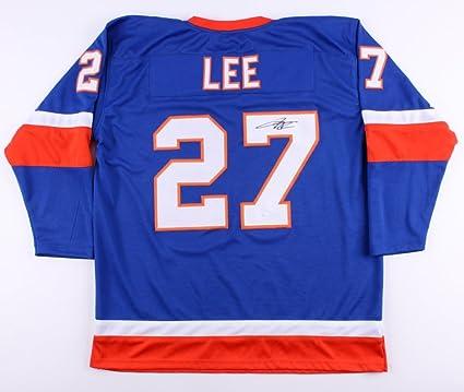 newest bf34c 72ee1 Anders Lee #27 Signed New York Islanders Jersey (JSA COA) at ...