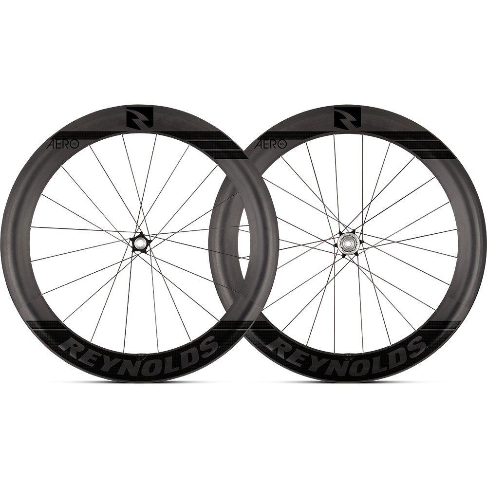 Reynoldsサイクリング – Aero 46ロードバイクホイールセット B07597D547  Disc Brake 65mm