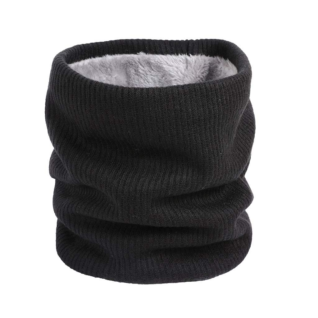 SuperXC Fleece Neck Warmer Scarf Windproof Ski Face Mask Heavy Winter Head Scarf for Skiing Hiking Cycling Climbing