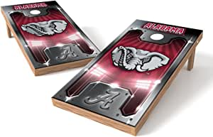 PROLINE NCAA College 2' x 4' Alabama Crimson Tide Cornhole Board Set - Plate