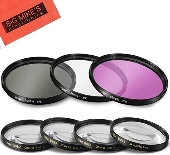 for Panasonic Lumix G X Vario PZ 14-42mm f//3.5-5.6 37mm Circular Polarizer Multicoated Glass Filter Microfiber Cleaning Cloth CPL