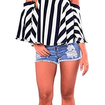 Amazon.com: Dacawin - Pantalones cortos para mujer, sexy ...