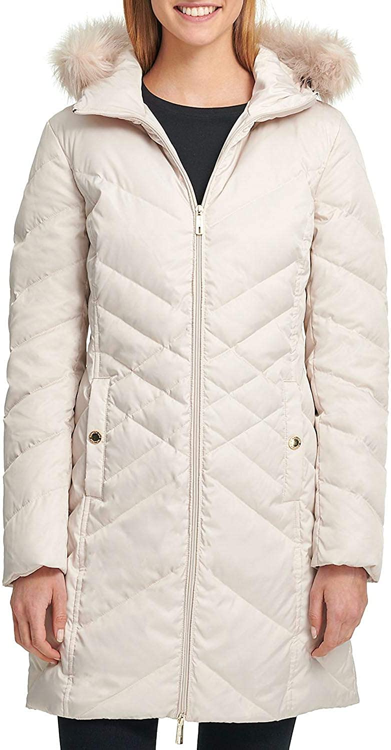 Frost, Small Kenneth Cole Womens Long Down Jacket