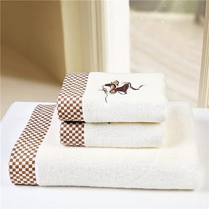 Juego de toallas para baño 3 pcs alta quanlity algodón toalla de baño con toalla de
