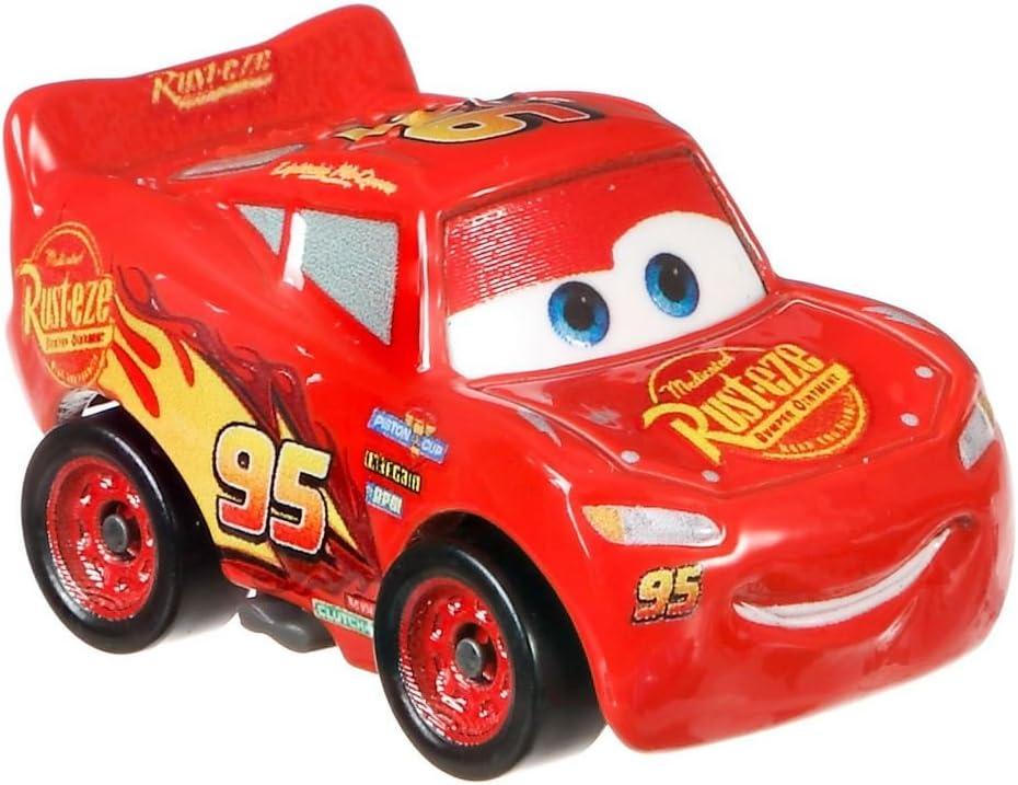 Mattel Disney Cars FBG74 Cars Serie 3 – Mini Racer, Racers de metal, modelos de vehículos a elegir: Amazon.es: Juguetes y juegos