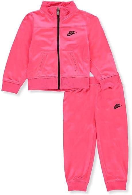 Nike 16C409 A4F, Ensemble veste et pantalon, Fille Rose
