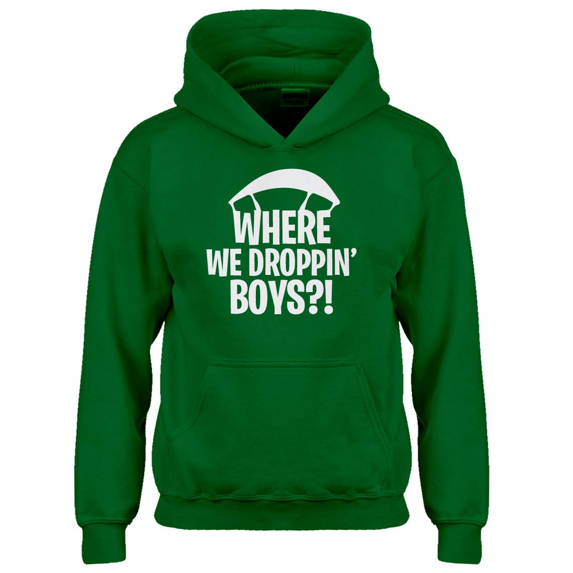 Indica Plateau Youth Where we Droppin' Boys?! Kids Hoodie 3748-Z