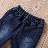 Toddler Girl Bell Bottom Jeans Vintage Flare Denim