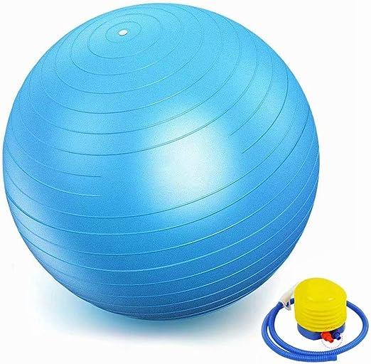 Yoga Ball Fitness Balle /épaissie Anti-d/éflagrant Anti-d/éflagrant Balance Enfant Enceinte Enfant Livraison Balle Sage-Femme Durable HXF Color : Gray, Size : 55cm