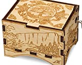 TheLaser'sEdge, Game of Thrones, Personalizable Music Box, Laser Engraved Birch Wood (Artistic Standard)