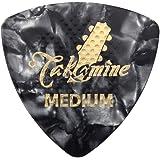 TAKAMINE P1B MEDIUM 0.75mm セルロイド トライアングルピック×10枚