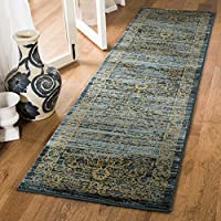 Safavieh Serenity Collection SER214C Turquoise and Gold Runner (23 x 12)