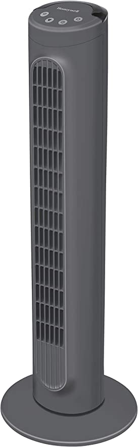 Honeywell HYF1101E1 3 Speed, Comfort Control Cooling Tower Fan for Home Use, Plastic
