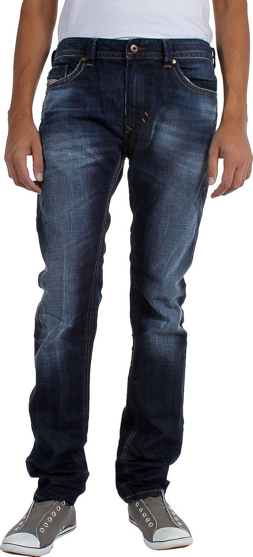 90cb4ec5 Diesel Jeans Thavar 0831Q W28 L32 Men Blue: Amazon.in: Clothing &  Accessories