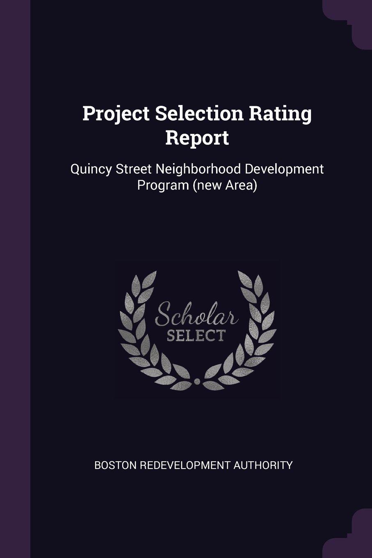 Download Project Selection Rating Report: Quincy Street Neighborhood Development Program (New Area) pdf