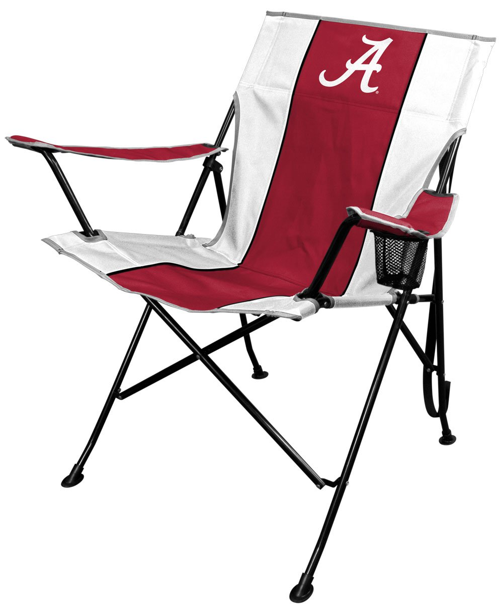 NCAA Portable Folding Tailgate Chair With Cup Holder And Carrying Case (All  Team Options)
