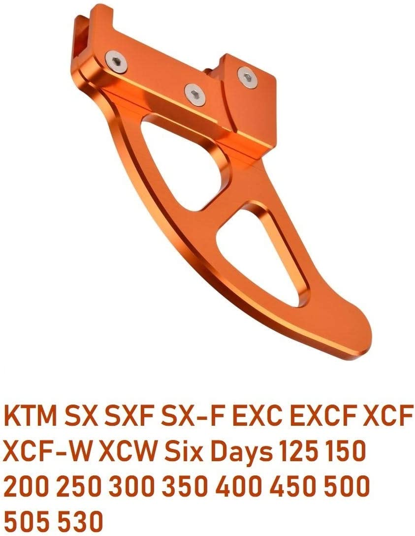 Motocicleta Protector de Cubierta de Disco Freno Trasero para SX SXF SX-F EXC EXCF XCF XCW 125 150 200 250 300 350 400 450 500 505 530
