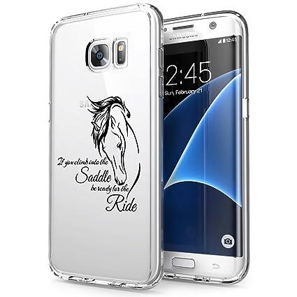 Amazon.com: Carcasa protectora para Samsung Galaxy S7 Edge ...