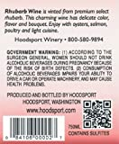 NV Hoodsport Rhubarb Wine 750 mL