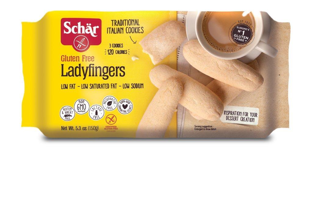 Schär Gluten Free Ladyfingers, 5.3 oz., 4-Pack by Schar