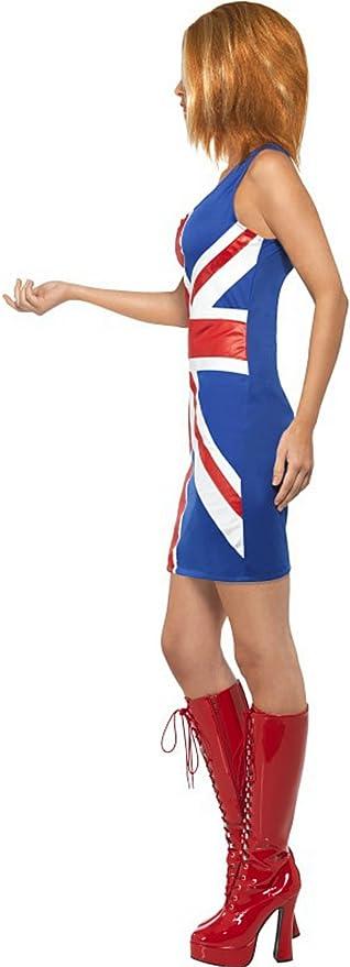 Jengibre Spice Girls 90s Disfraz Talla Mediana: Amazon.es ...