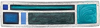 product image for DANFORTH - Riversong/Twilight Large Barrette - 3 3/8 inches - Handcrafted - Made in USA