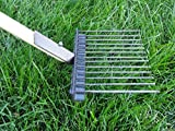 Jibber Gear The Natural - Extra Long 48'' Handle - Professional Lawn Saver Design - Pooper Scooper