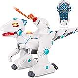 wodtoizi Remote Control Dinosaur Robot Toys RC Walking Dinosaur Toy Dino Roar Interactive Intelligent Educational Dance…