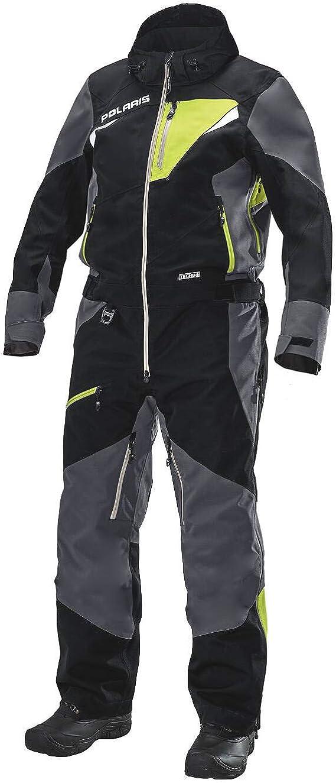 XLT Polaris Mens TECH54 Full-Zip Pro Monosuit//One-Piece Snowsuit with Waterproof Breathable Membrane