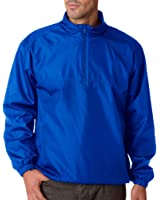 Ultraclub Adult Micro-Poly 1/4-Zip Windshirt