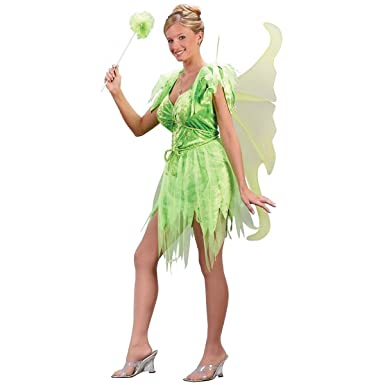 fun world neverland fairy adult costumes green sm size 2 8