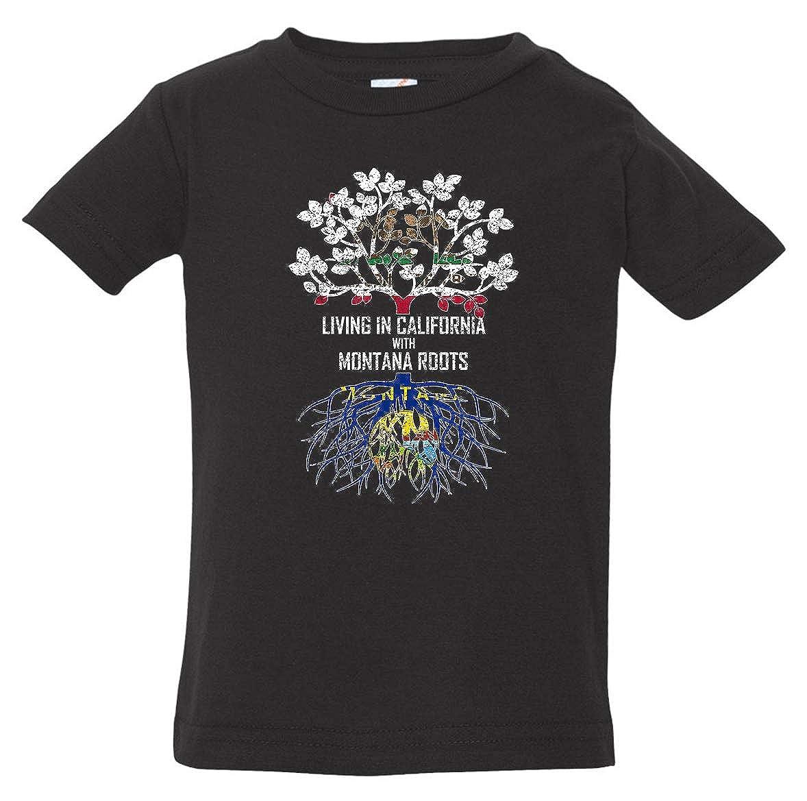 Tenacitee Babys Living in California Montana Roots Shirt