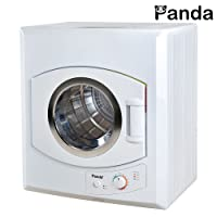 Marvelous Panda 2.65 Cu.ft Compact Laundry Dryer, White