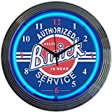 Neonetics Cars and Motorcycles Buick Neon Wall Clock, 15-Inch
