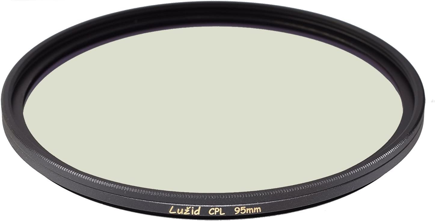 LUŽID X2 95mm CPL MC Filter Schott B270 Glass Brass Frame Multi-Coated Luzid 95 Circular Polarizer