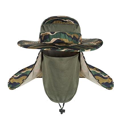 85eb75ed3ae Amazon.com   Panaoxf Sun Cap Fishing Hat for Men Women