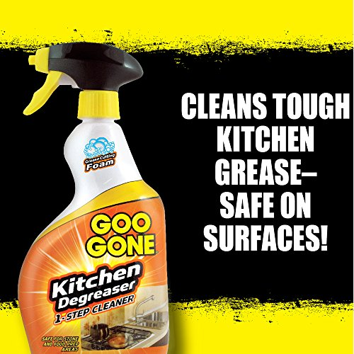 Goo Gone Kitchen Degreaser - Removes Kitchen Grease, Grime and Baked-on Food - 28 Fl. Oz. by Goo Gone (Image #3)
