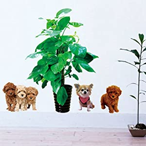 Dogs Wall Stickers Love Wall Decal Mural Home Decor