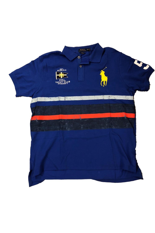 Galleon Ralph Shirtlauren Fit Polo Custom Nautical Lauren IYfvmy6b7g