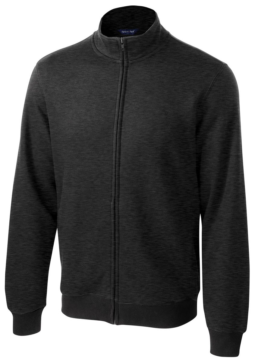 Sport-Tek Full-Zip Sweatshirt (ST259) -GRAPHITE H -4XL