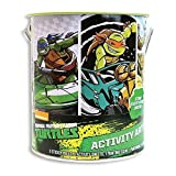 ninja turtle arts and crafts - Teenage Mutant Ninja Turtles Deluxe Activity Art Can - Paint, Color, Sticker and Stencil TMNT Set
