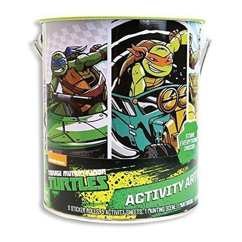 Amazon.com: Teenage Mutant Ninja Turtles Deluxe Actividad ...