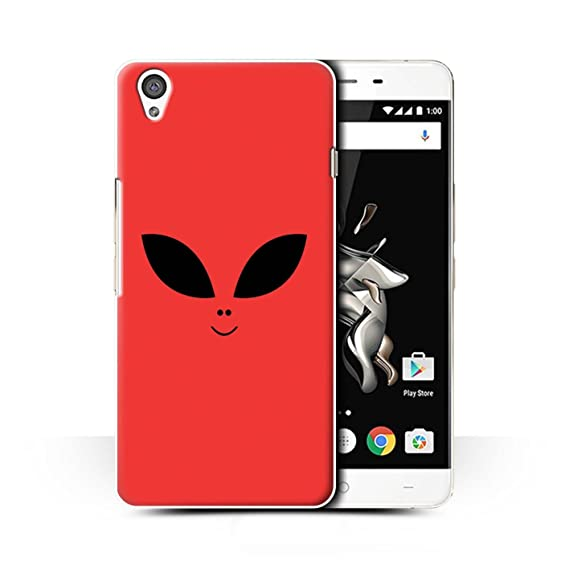 new arrival a123a ef145 Amazon.com: STUFF4 Phone Case/Cover for OnePlus X/Red Design ...