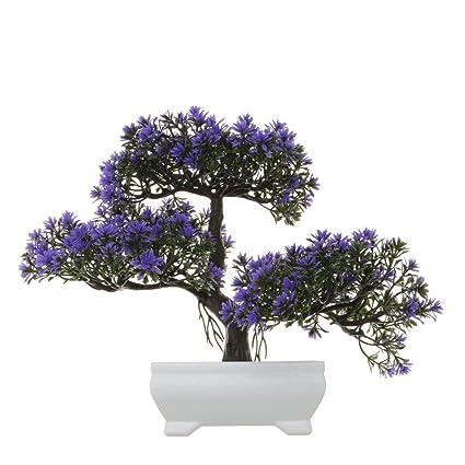 amazon com new hi creative shape design fake artificial ficusPurple Tree Hi #19