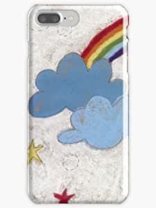 The stars and the rainbow Phone Case for Apple Iphone 7 Plus