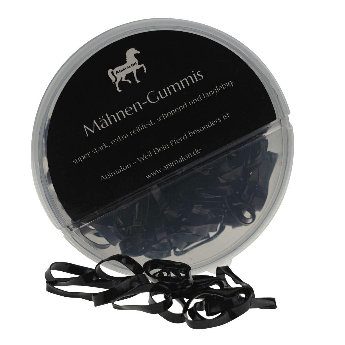 Trenzas Suaves con Gomas Resistentes a la Rotura Animalon Gomas para Crin Silicona para Caballos de peluquer/ía Accesorios Ideales para Caballos